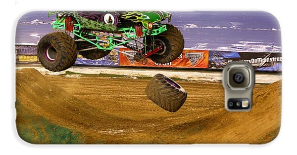 Grave Digger Loses A Wheel Galaxy S6 Case by Nathan Rupert