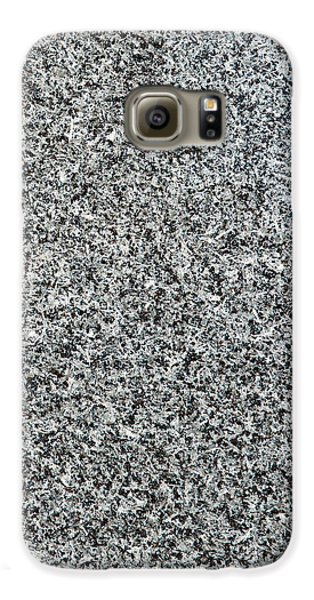 Gray Granite Galaxy S6 Case by Alexander Senin