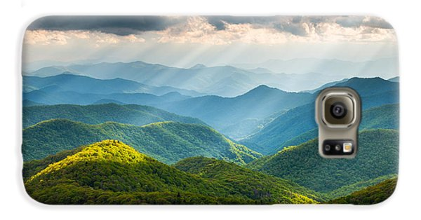 Great Smoky Mountains National Park Nc Western North Carolina Galaxy S6 Case by Dave Allen