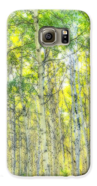 Green And Yellow Galaxy S6 Case