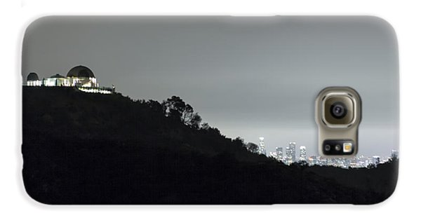 Griffith Park Observatory And Los Angeles Skyline At Night Galaxy S6 Case