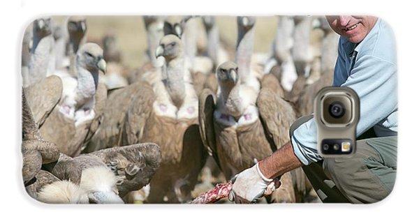 Griffon Vulture Conservation Galaxy S6 Case