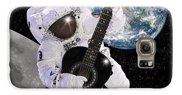 Ground Control To Major Tom Galaxy S6 Case by Nikki Marie Smith