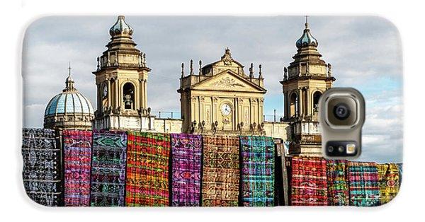 Colours Galaxy S6 Case - Guatemala City Cathedral by Francisco Mendoza Ruiz