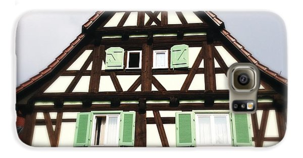 Half-timbered House 01 Galaxy S6 Case