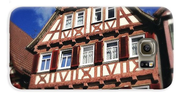 Half-timbered House 10 Galaxy S6 Case