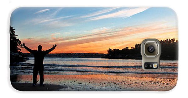 Galaxy S6 Case featuring the photograph Happiness Can Be Simple by Miroslava Jurcik