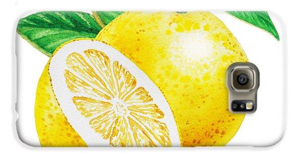 Happy Grapefruit- Irina Sztukowski Galaxy S6 Case