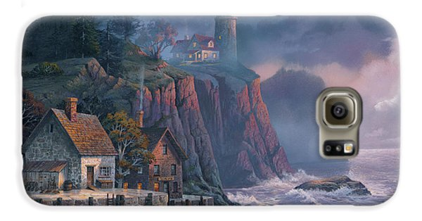 Harbor Light Hideaway Galaxy S6 Case by Michael Humphries