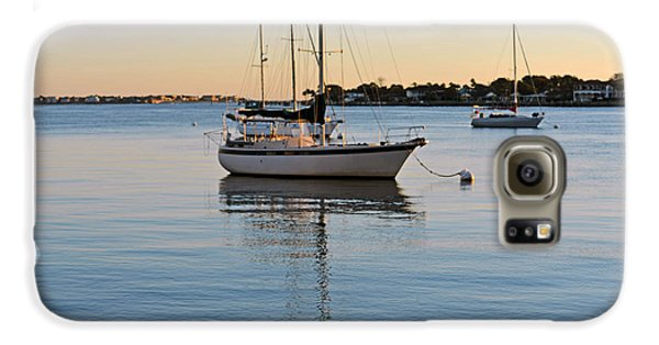 Galaxy S6 Case featuring the photograph Harbor Sunrise by Anthony Baatz
