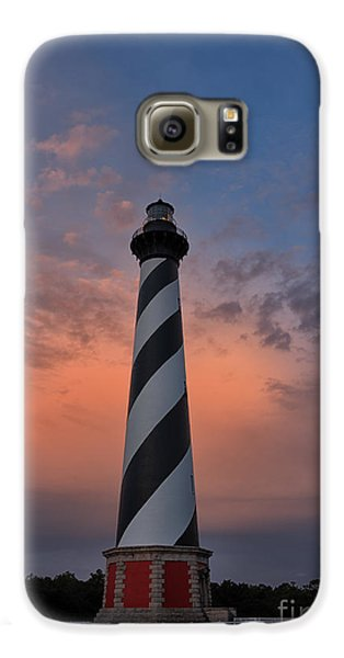 Hatteras Lighthouse Dawn Galaxy S6 Case