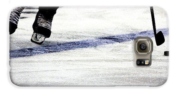 He Skates Galaxy S6 Case by Karol Livote