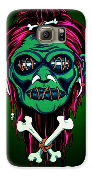 Voodoo Galaxy S6 Case - Headhunter by Steve Hartwell
