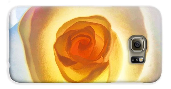 Heart Of The Rose Galaxy S6 Case by Peggy Hughes