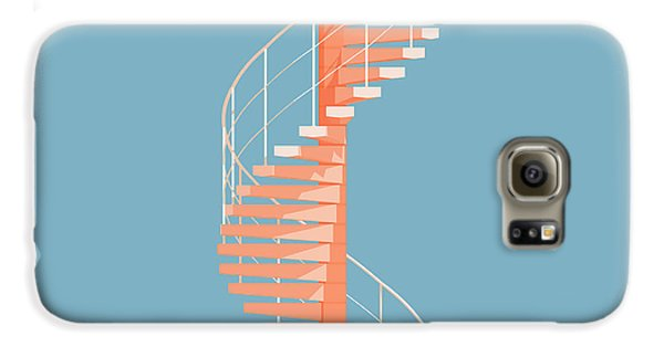 Helical Stairs Galaxy S6 Case by Peter Cassidy