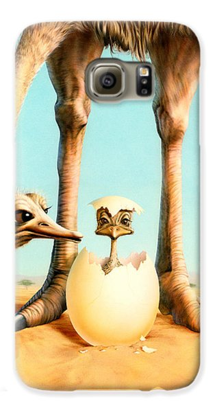 Hello Mum Galaxy S6 Case by Andrew Farley