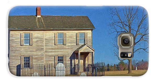 Henry House In Winter / Manassas National Battlefield Galaxy S6 Case