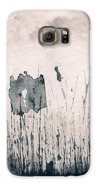 Galaxy S6 Case featuring the painting Herbes Souillees by Marc Philippe Joly