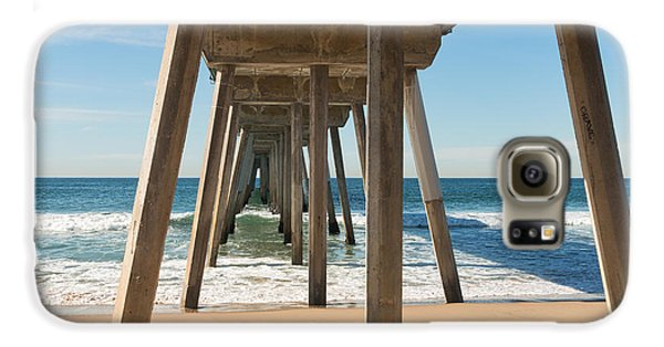 Hermosa Beach Pier Galaxy S6 Case