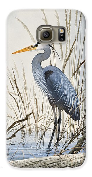 Herons Natural World Galaxy S6 Case by James Williamson