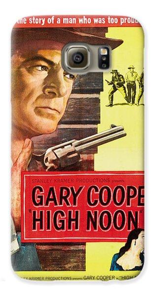 High Noon - 1952 Galaxy S6 Case by Georgia Fowler