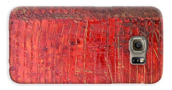 Highway Series - Cranberry Bog Galaxy S6 Case by Michelle Calkins