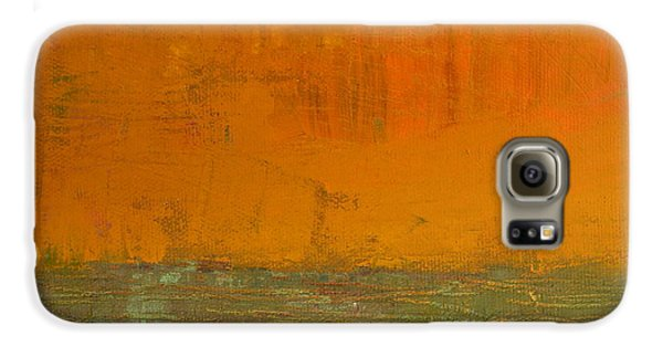 Highway Series - Grasses Galaxy S6 Case by Michelle Calkins