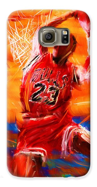 His Airness Galaxy S6 Case by Lourry Legarde