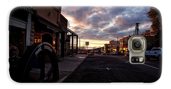 Historic Jerome Arizona Sunrise Galaxy S6 Case