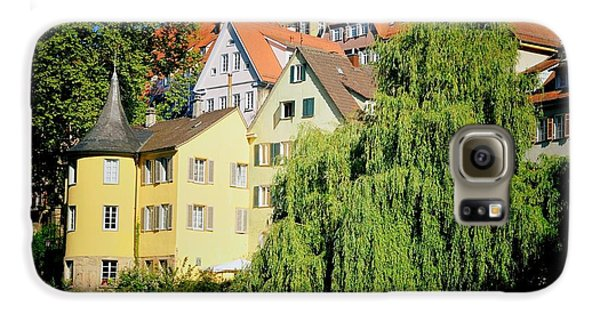 Hoelderlin Tower In Lovely Tuebingen Germany Galaxy S6 Case