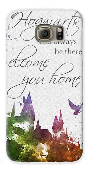 Hogwarts Will Welcome You Home Galaxy S6 Case