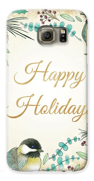 Holiday Wishes II Galaxy S6 Case by Elyse Deneige