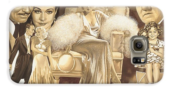 Hollywoods Golden Era Galaxy S6 Case