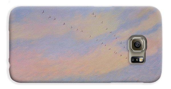 Homeward, 2004 Oil On Canvas Galaxy S6 Case by Ann Brain