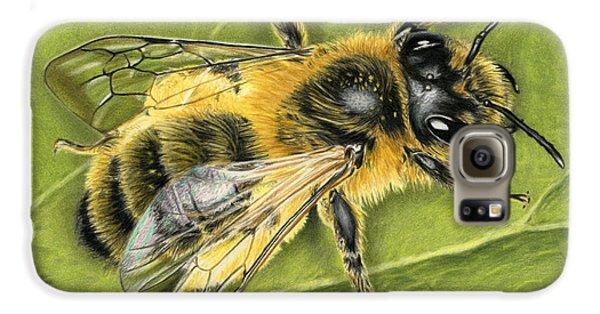 Honeybee On Leaf Galaxy S6 Case