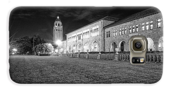 Hoover Tower Stanford University Monochrome Galaxy S6 Case