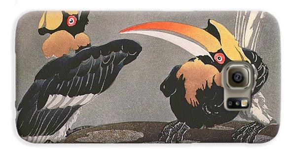 Hornbill Galaxy S6 Case - Hornbills by Ethleen Palmer