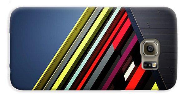 Colours Galaxy S6 Case - House Of Colours by Jeroen Van De