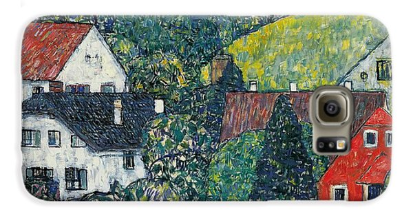 Town Galaxy S6 Case - Houses At Unterach On The Attersee by Gustav Klimt