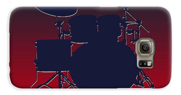 Houston Texans Drum Set Galaxy S6 Case by Joe Hamilton