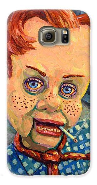 Howdy Von Doody Galaxy S6 Case by James W Johnson