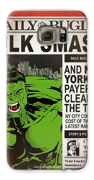 Hulk Smash - Daily Bugle Galaxy S6 Case