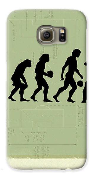 Human Evolution Galaxy S6 Case