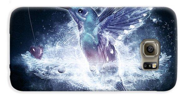 Hummingbird Print Galaxy S6 Case