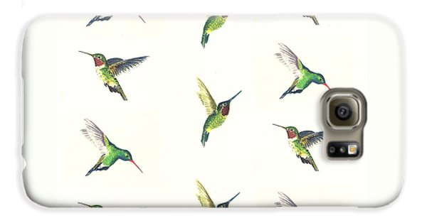Hummingbirds Number 2 Galaxy S6 Case