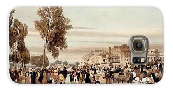 Hyde Park, Towards The Grosvenor Gate Galaxy S6 Case
