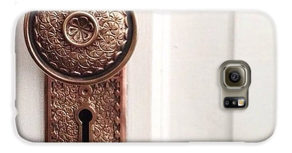 Decorative Galaxy S6 Case - I Just Love These Old Door Knobs! by Kim Schumacher
