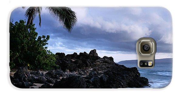 I Ke Kai Hawanawana Eia Kuu Lei Aloha - Paako Beach Maui Hawaii Galaxy S6 Case
