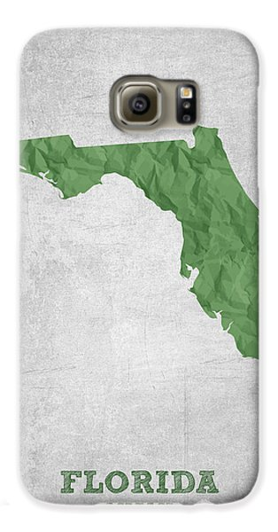 I Love Miami Florida - Green Galaxy S6 Case by Aged Pixel