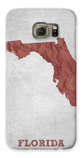 I Love Miami Florida - Red Galaxy S6 Case by Aged Pixel